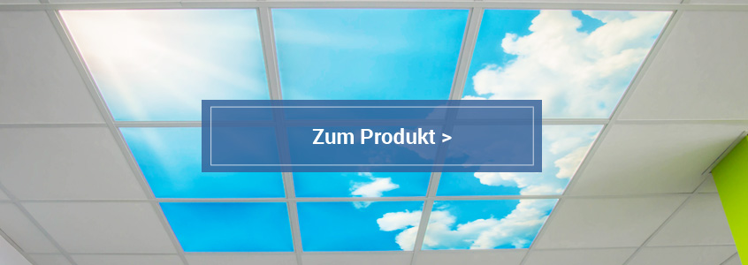 LED Panels mit Himmelmotiven